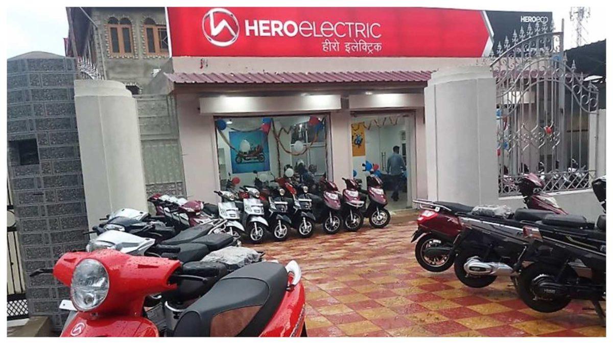 Hero electric showroom