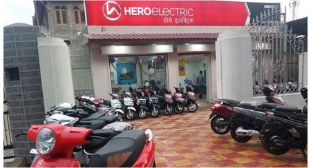 Hero electric showroom
