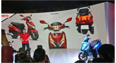 Hero launch of all new scooters