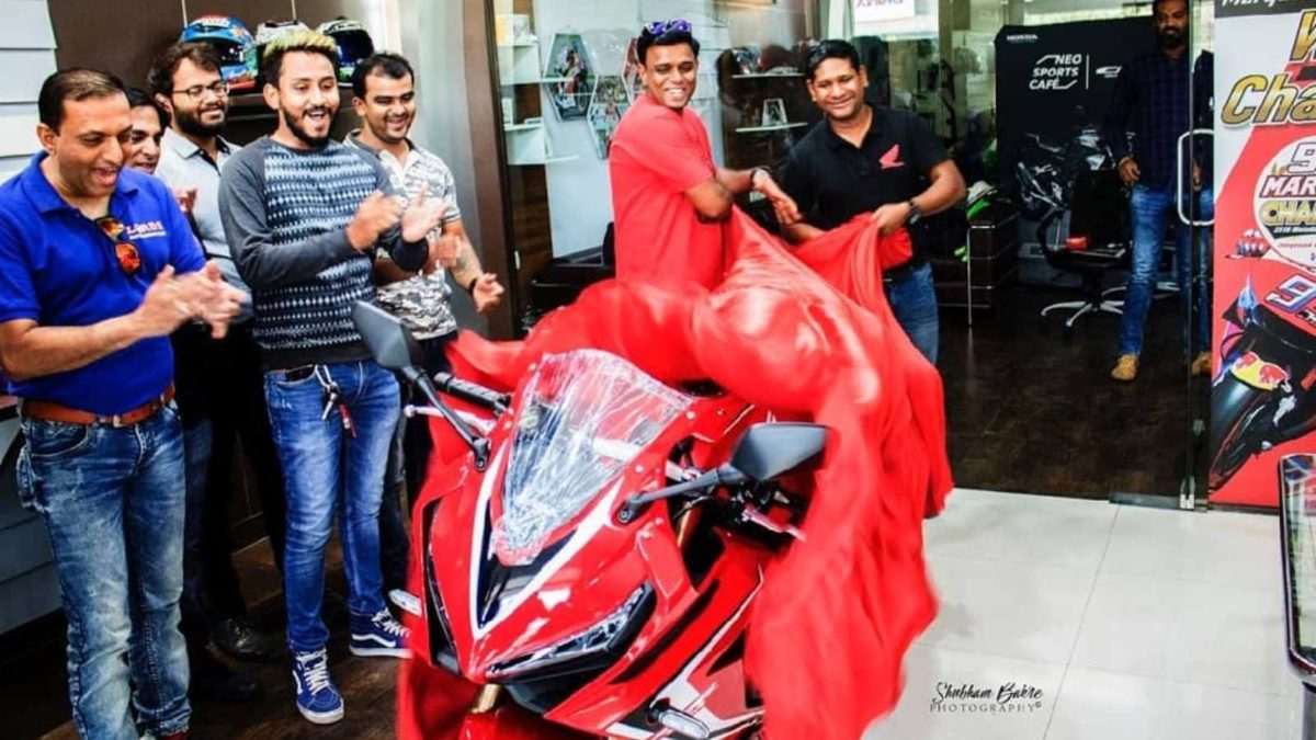 Honda CBR650R deliveries begin reveal