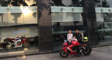 Honda commences deliveries of the CBR650R