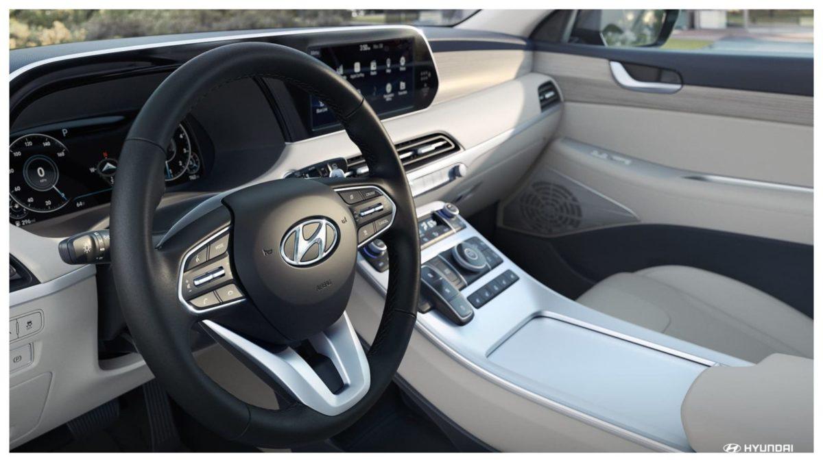 Hyundai Palisade steering
