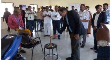 Inauguration ceremony of Honda Skill Enhancement centre in Dhule