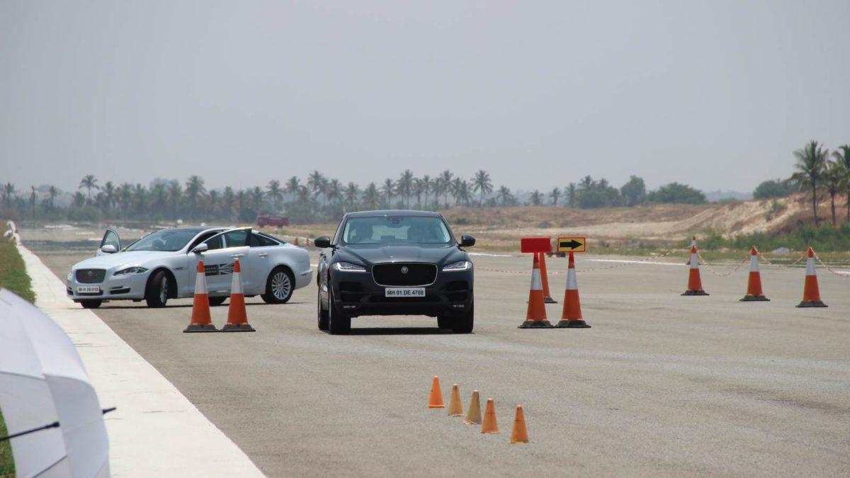 Jaguar Art of Performance F Pace and XJ L
