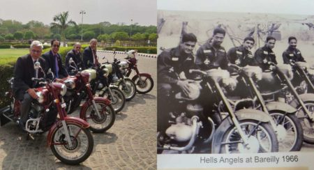 Jawa recreates picture with IAF war veterens