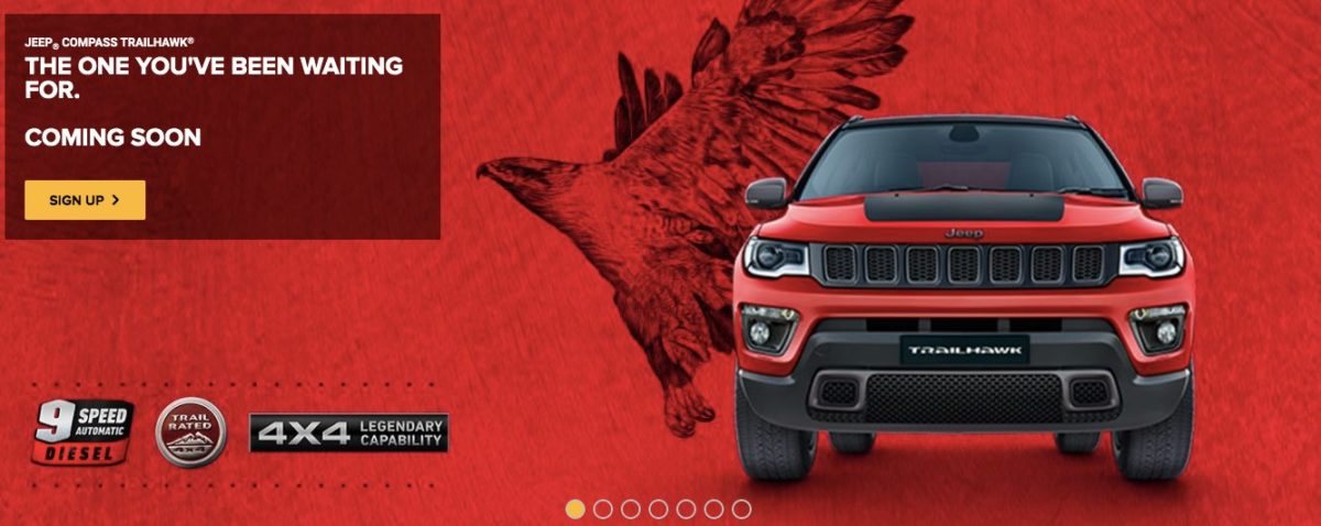 Jeep Compass Trailhawk 9 speed AT confirmed