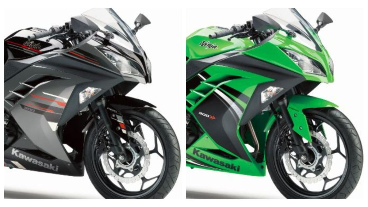Kawasaki new colours launched ninja 300