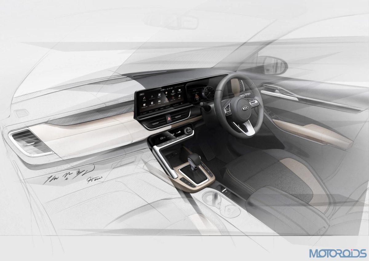 Kia mid SUV interior
