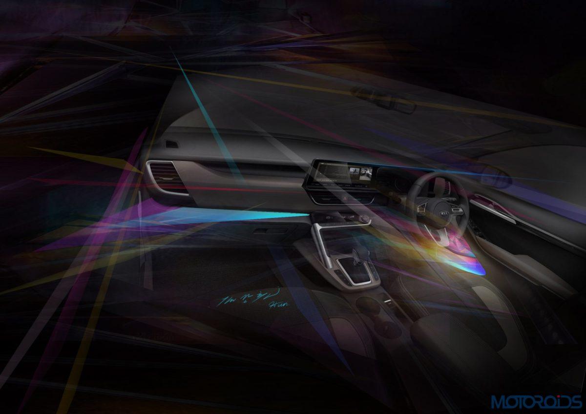 Kia mid SUV_lighting