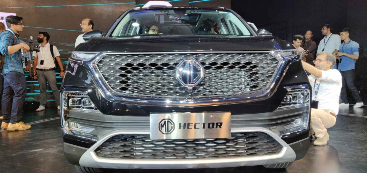 MG Hector Global Unveil (14)