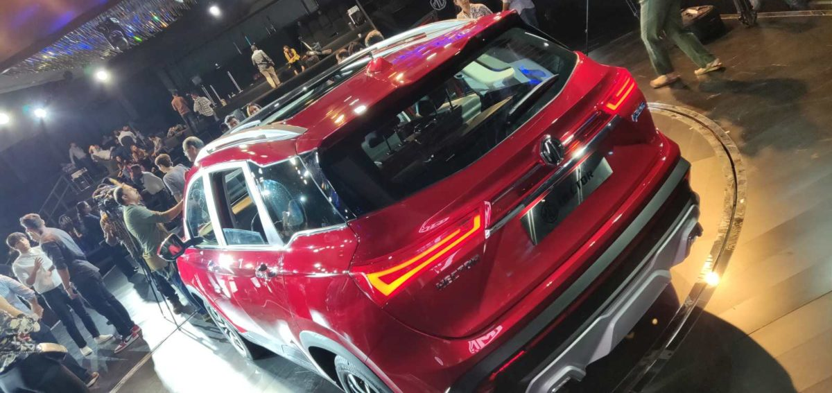 MG Hector Global Unveil (27)