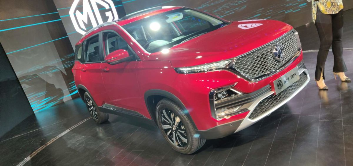 MG Hector Global Unveil (37)