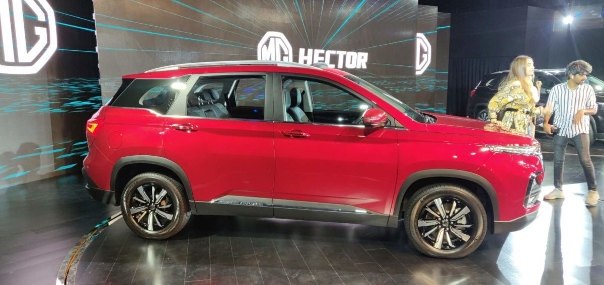 Check Engine Light Flashing >> MG Hector Unveiled In India – Specifications, Features ...