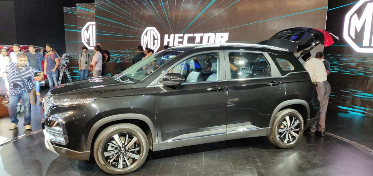 MG Hector Global Unveil (5)