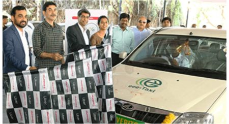 Mahindra Uber deploy EVs in Hyderabad