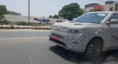Mahindra XUV300 Spied Testing Future Updates