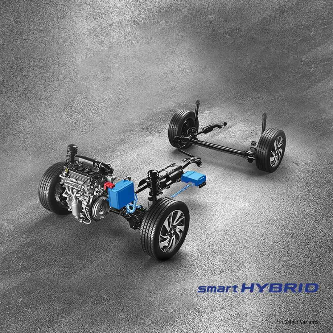 Maruti Suzuki Baleno Smart Hybrid System