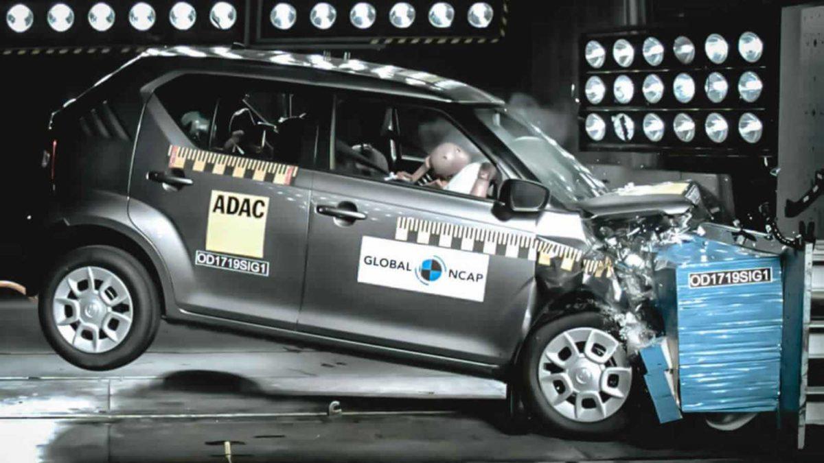 Maruti Suzuki Ignis scores 3 stars Gobal NCAP safety ratings