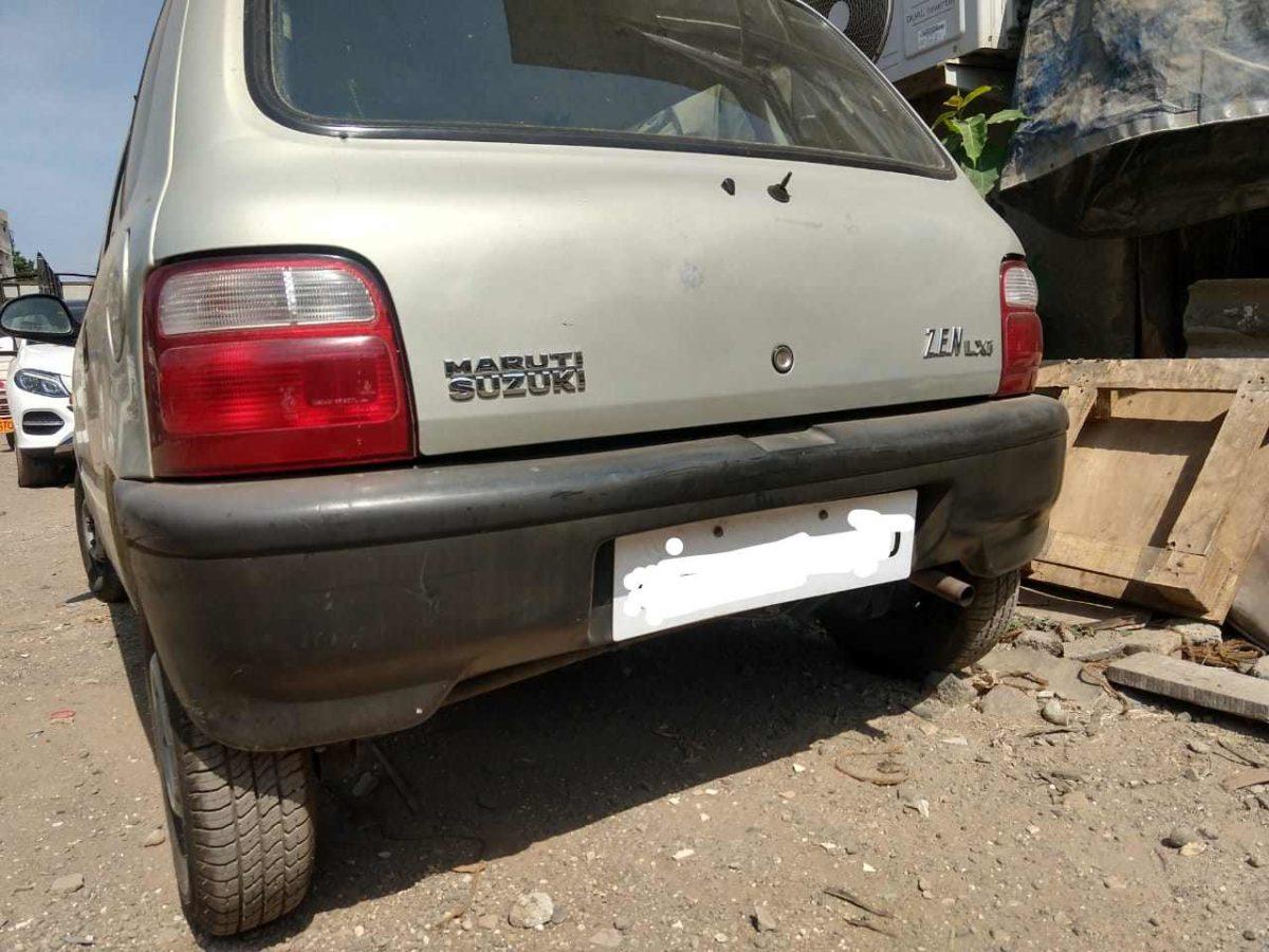Maruti Suzuki Zen rear bumper