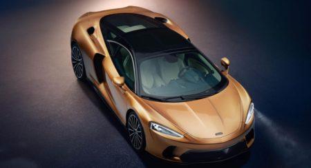 McLaren GT exterior top front quarter