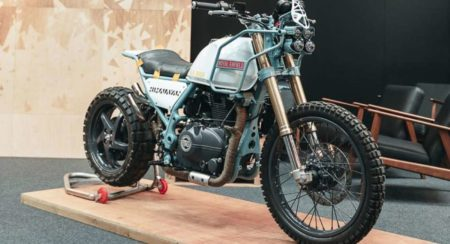 This Turbocharged Royal Enfield Himalayan Is Apocalypse Ready