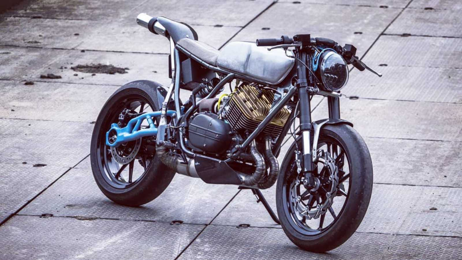 This Yamaha Rd 350 Based Cafe Racer Will Make Your Heart Skip A Beat Motoroids
