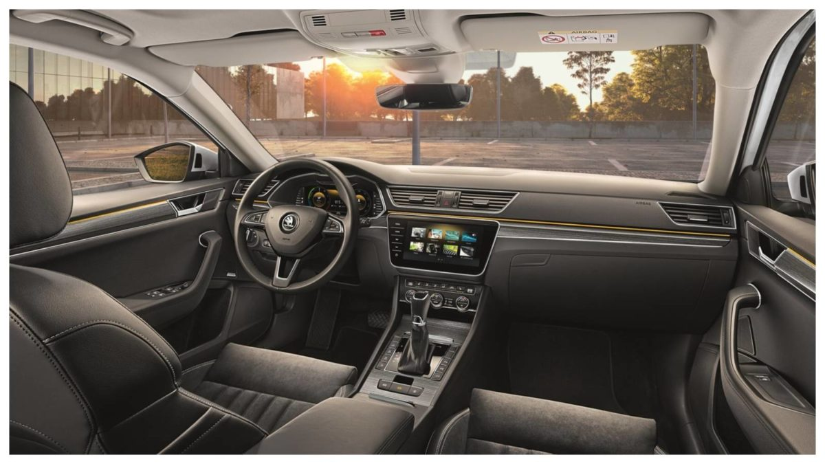 New gen Skoda Superb Interior