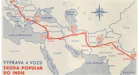 Old Skoda Map