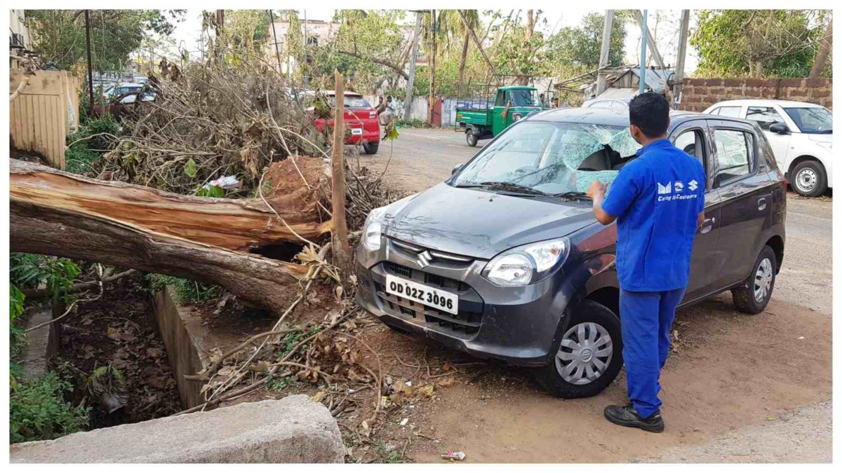 Photo 1 Maruti Suzuki proactive measures help to reduce car damage and quick repair of vehicles affected by Fani cyclone