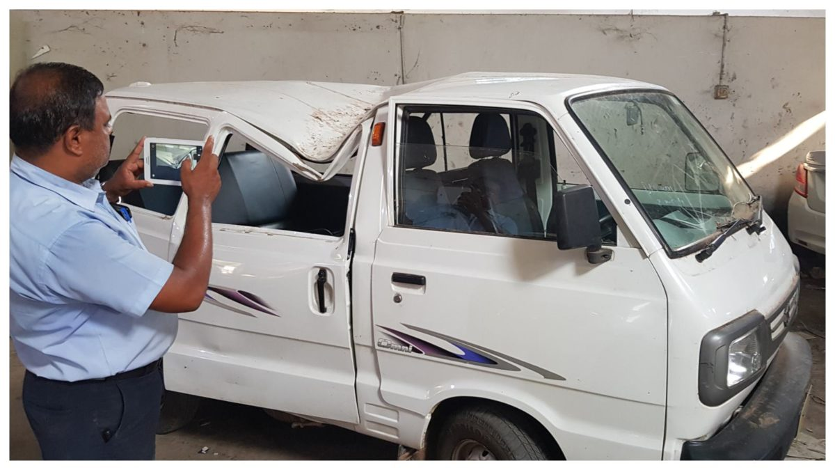 Photo 2 Maruti Suzuki proactive measures help to reduce car damage and quick repair of vehicles affected by Fani cyclone