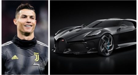 Ronaldo new owner of La Voiture Noire