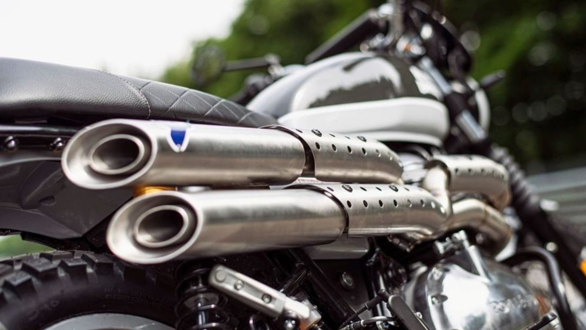 Royal Enfield Interceptor 650 exhaust