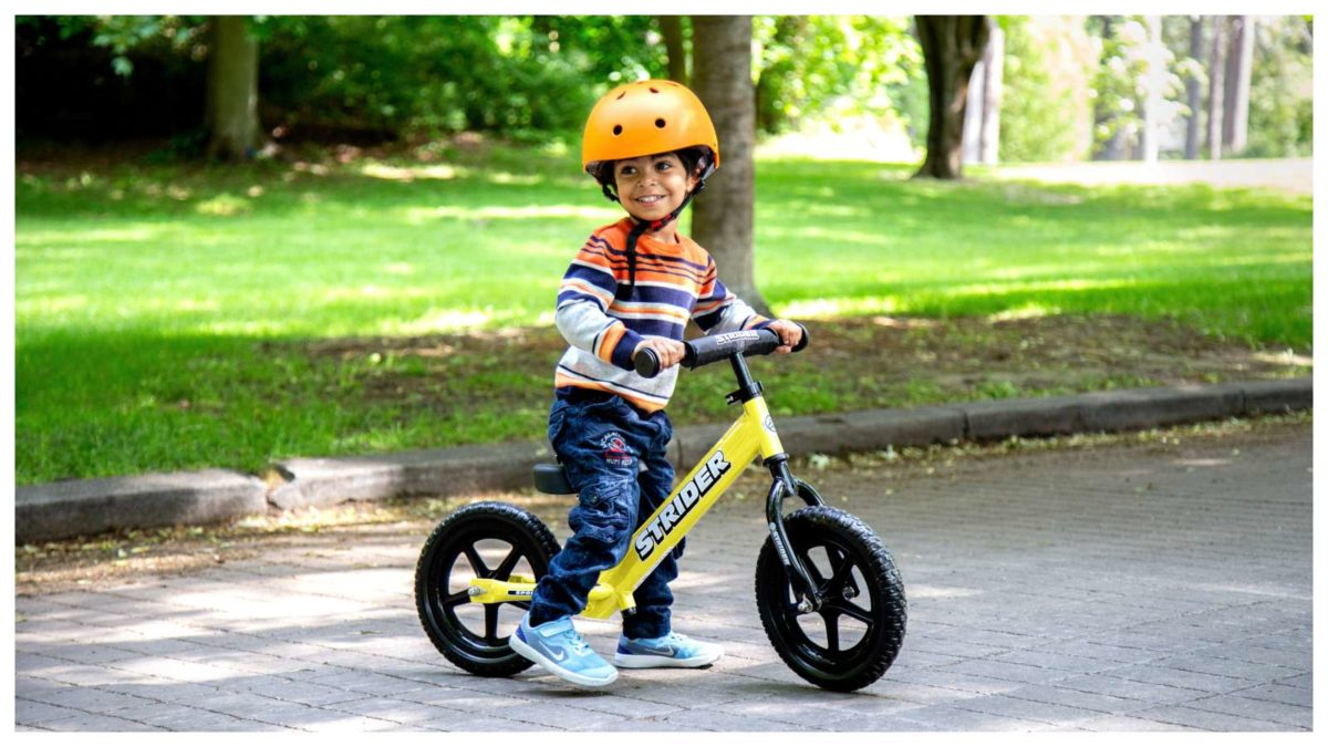 StriderBikes 12 Sport Balance yellow