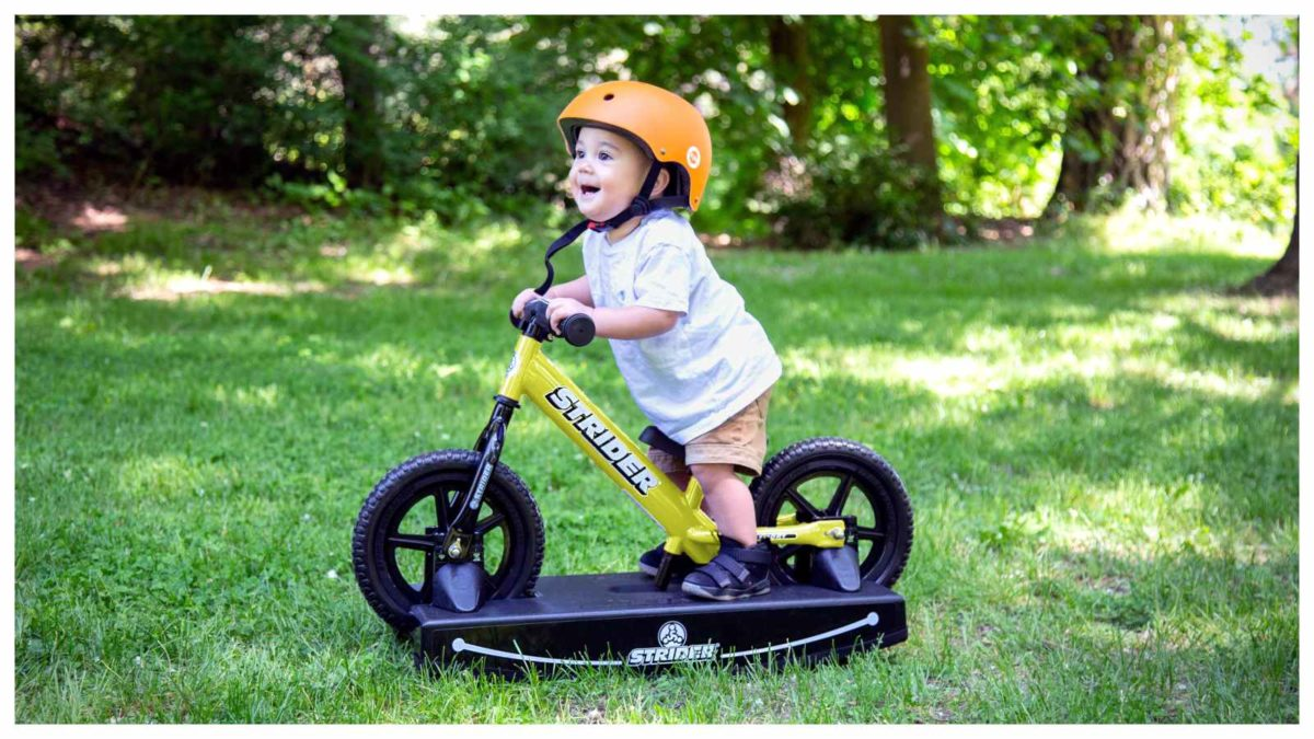 StriderBikes Baby Bundle yellow