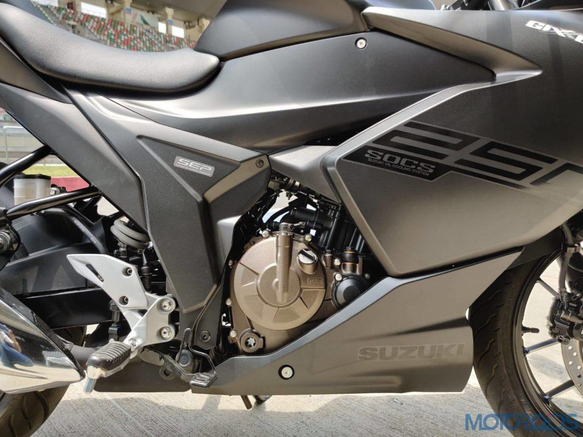 Suzuki Gixxer SF 250 First Ride Review Engine