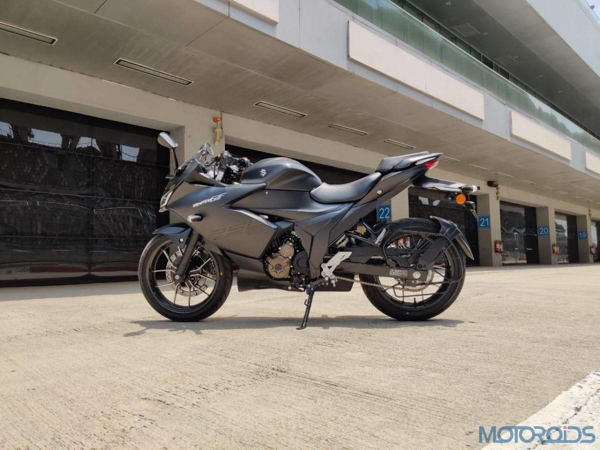 Suzuki Gixxer SF 250 First Ride Review Side profile
