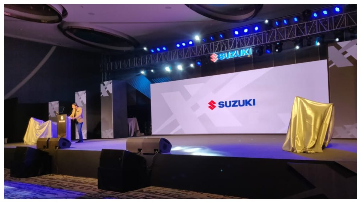 Suzuki launch