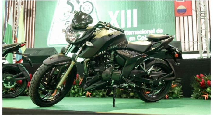 Carbon Editions Of Tvs Apache Rtr 160 4v And Rtr 200 4v