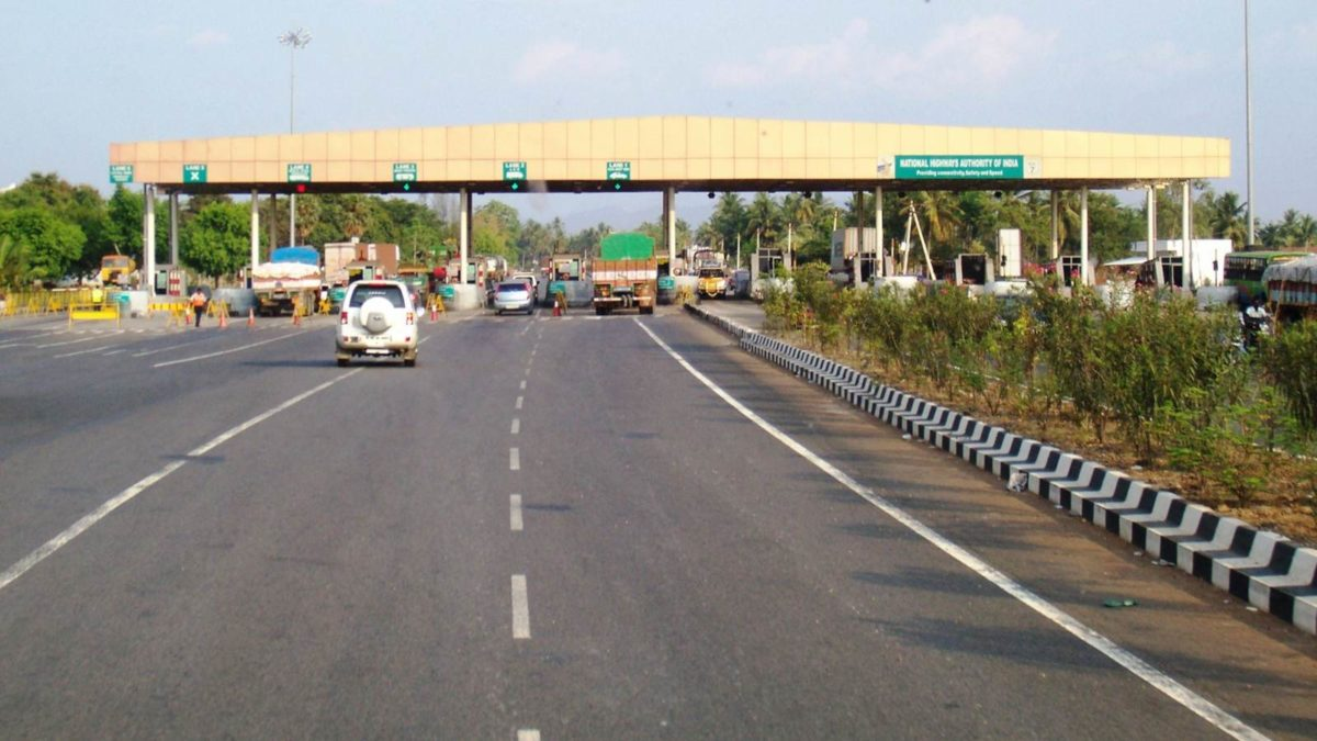 Toll plaza in India