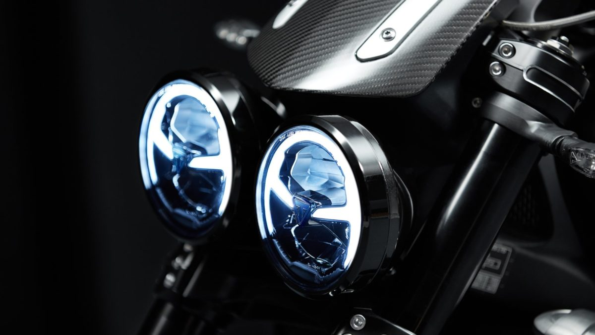 Triumph Rocket 3 headlamps