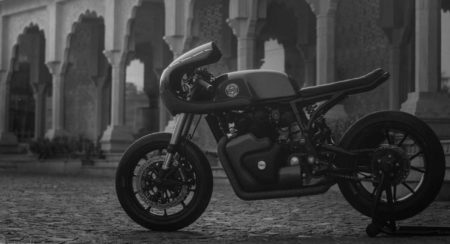 Rajputana Customs Work Their Magic On The Royal Enfield Continental GT 650
