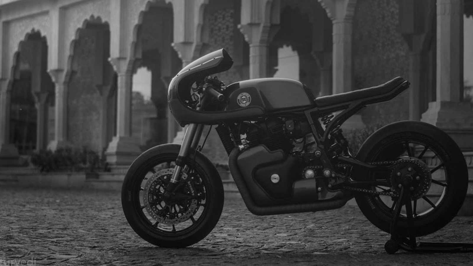 Rajputana Customs Work Their Magic On The Royal Enfield Continental Gt 650 Motoroids