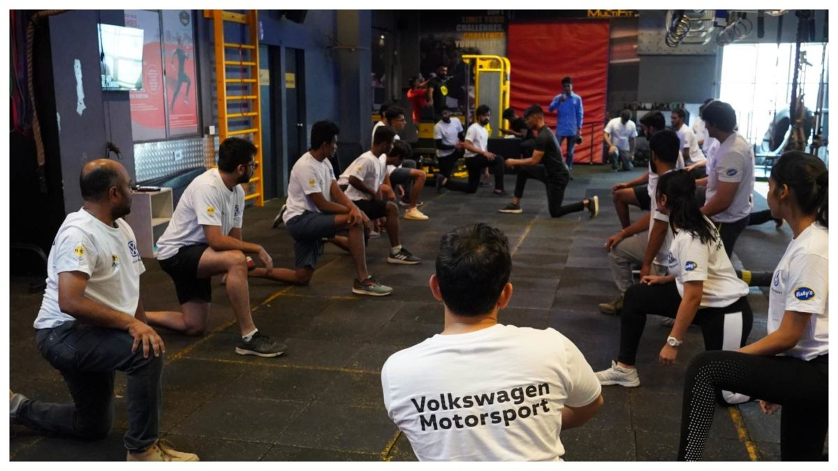 Volkswagen Motorsport organizes fitness session for its selected drivers of Ameo Cup 2019