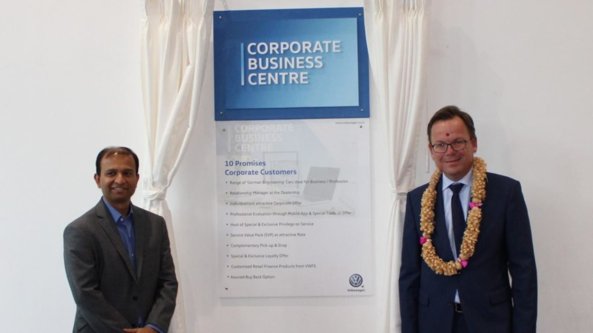 Volkswagen opens third CBC in Bengaluru ten pormises