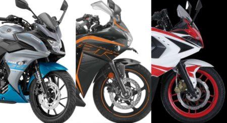 Yamaha Fazer 25 vs Honda CBR250R vs Pulsar RS200 vs Gixxer 250 SF