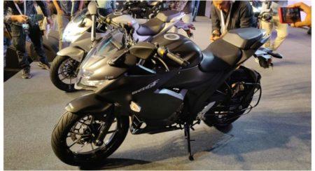 black Gixxer SF 250