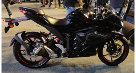 gixxer sf 150 black