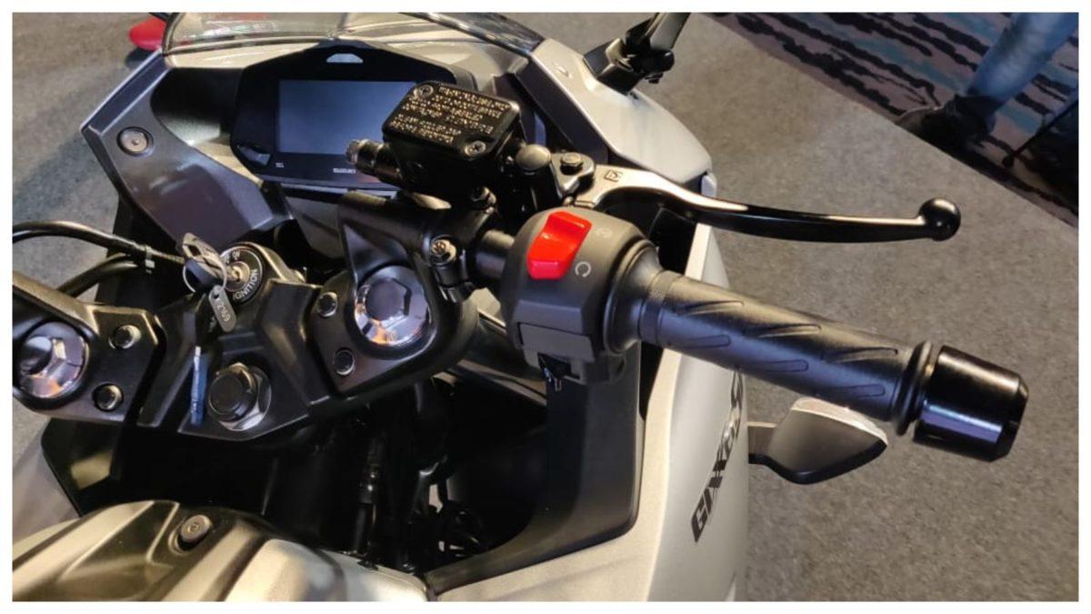 gixxer sf 250 clipon handlebars