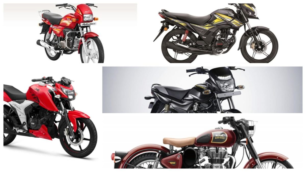 top selling bikes in april 2019