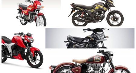 top-selling bikes in april 2019
